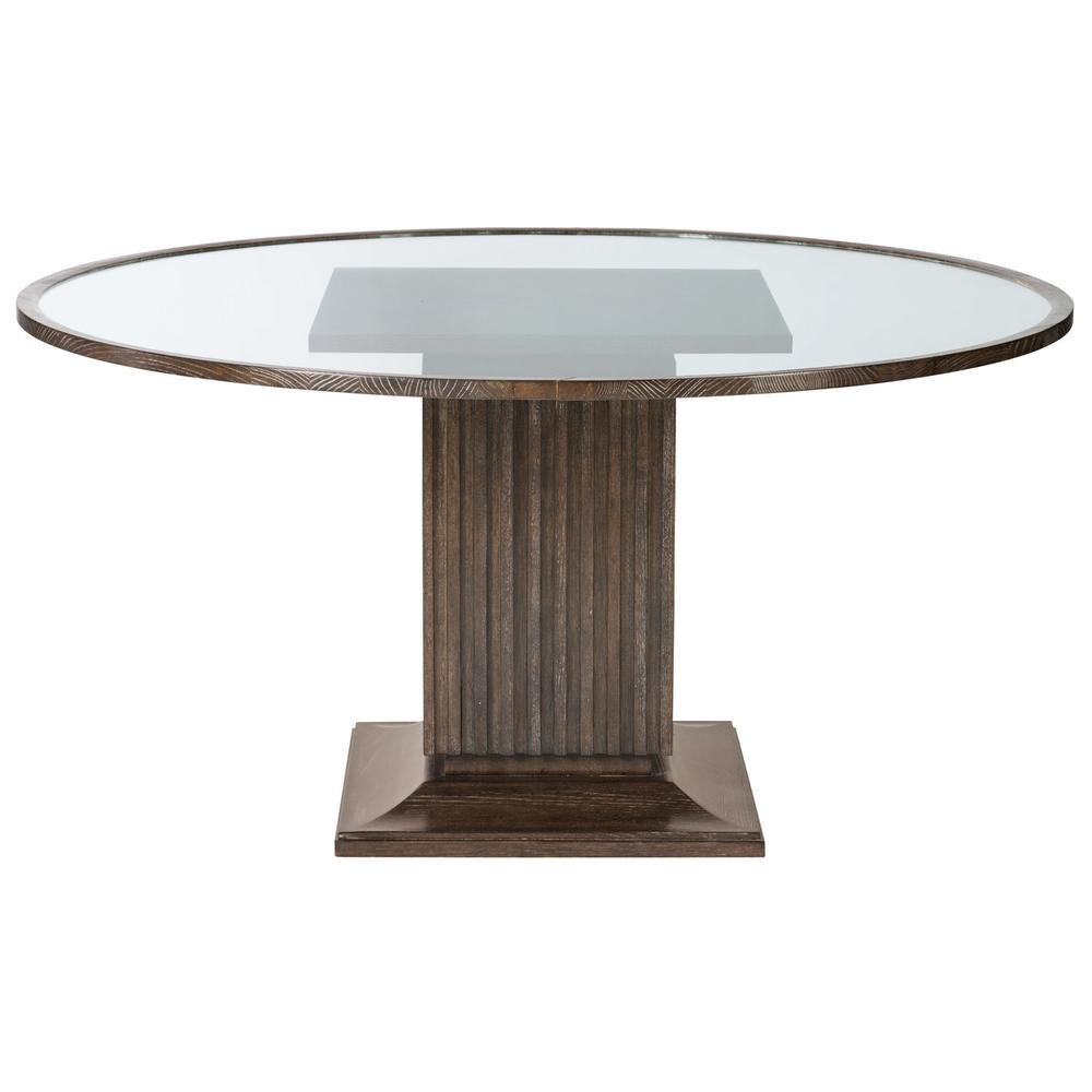 Clarendon Round Dining Table in Arabica (377)