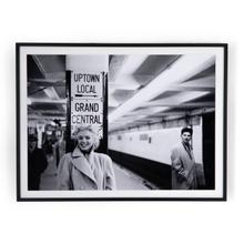 """40""""x30"""" Size Grand Central Marilyn By Getty Images"""