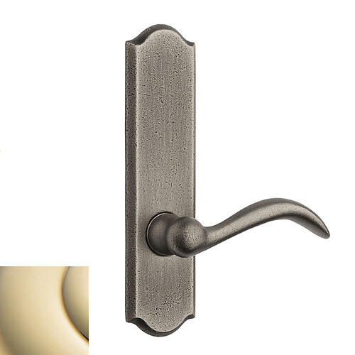 Lifetime Polished Brass Rustic L028 Lever Screen Door