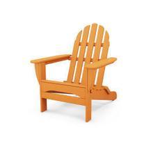See Details - Classic Folding Adirondack in Tangerine