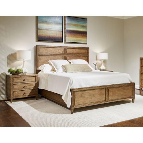 Bluffton King Panel Bed - King / Southlake