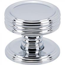 View Product - Divina Knob 1 Inch Polished Chrome Polished Chrome