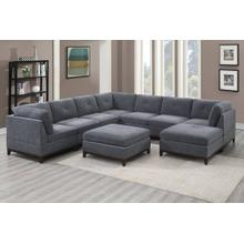 9-pcs Modular Sectional & Sofa Set (x-large)