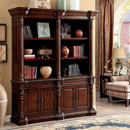 Furniture of America - Roosevelt Large Book Shelf