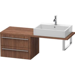 Low Cabinet For Console Compact, Walnut Dark (decor)