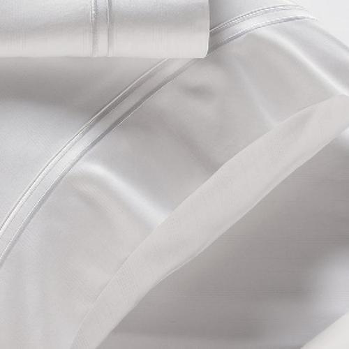 Bamboo Pillowcase Set - White / Standard