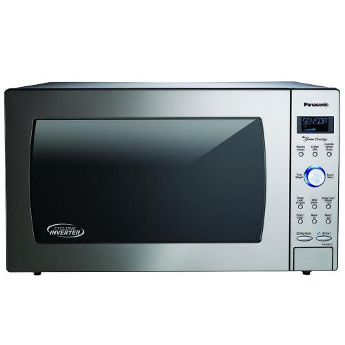 2.2 Cu. Ft. Built-In/Countertop Cyclonic Wave Microwave Oven with Inverter Technology - Stainless Steel - NN-SD975S