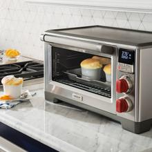 Countertop Oven with Convection Brushed Stainless Knob