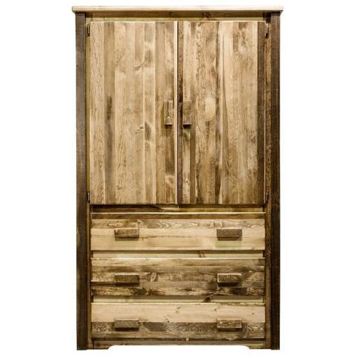 Homestead Collection Armoire, Stain and Lacquer Finish