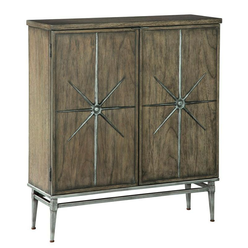 2-8023 Two Door Star Entertainment Center