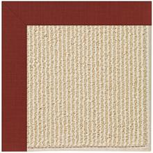 Creative Concepts-Beach Sisal Dupione Henna Machine Tufted Rugs