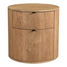 See Details - Theo Two Drawer Nightstand