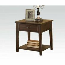 ACME Malachi End Table - 80255 - Walnut