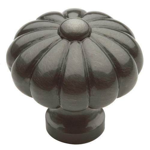 Antique Nickel Melon Knob
