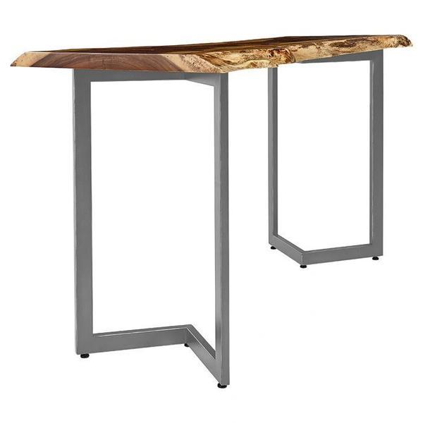 "See Details - Natural Guanacaste 72"" Rectangular Bar Table Top"