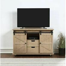 ACME Benicio TV Stand, Natural - 91384