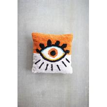 See Details - Eye Tufted Throw Pillow