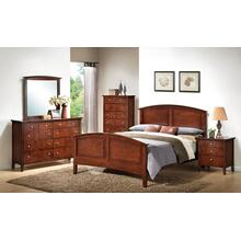 3136 Queen GROUP; QB, Dresser Mirror, Chest