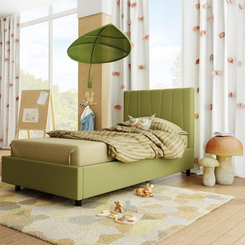 Amisco - Namaste Upholstered Bed - Twin