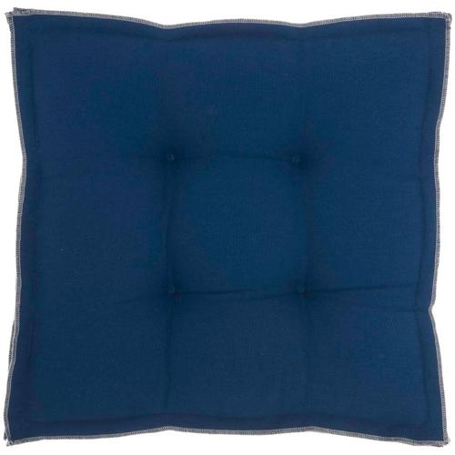 "Outdoor Pillows Qy029 Navy 18"" X 18"" X 3"" Seat Cushion"