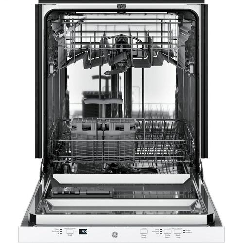 GE Appliances - GE® ADA Compliant Stainless Steel Interior Dishwasher with Sanitize Cycle