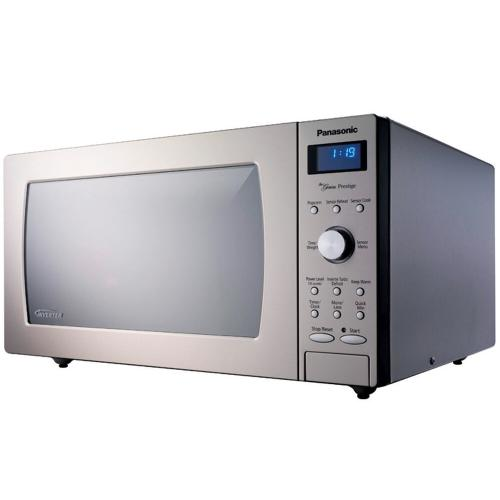 Panasonic - 1.6 Cu. Ft. Built-In/Countertop Microwave Oven with Inverter Technology™ - Stainless Steel - NN-SD797S