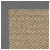 "Creative Concepts-Raffia Canvas Charcoal - Rectangle - 24"" x 36"""