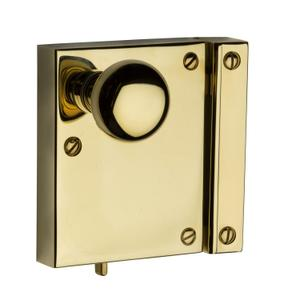 Lifetime Polished Brass 5604 Small Vertical Rim Lock Product Image