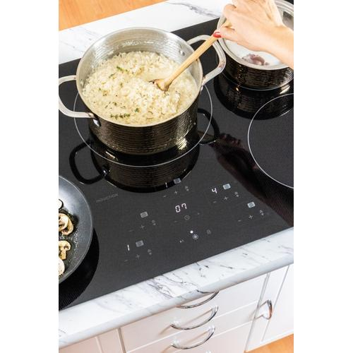 36 in. Width Cooktop, European Black Mirror Finish Made with Premium SCHOTT® Glass