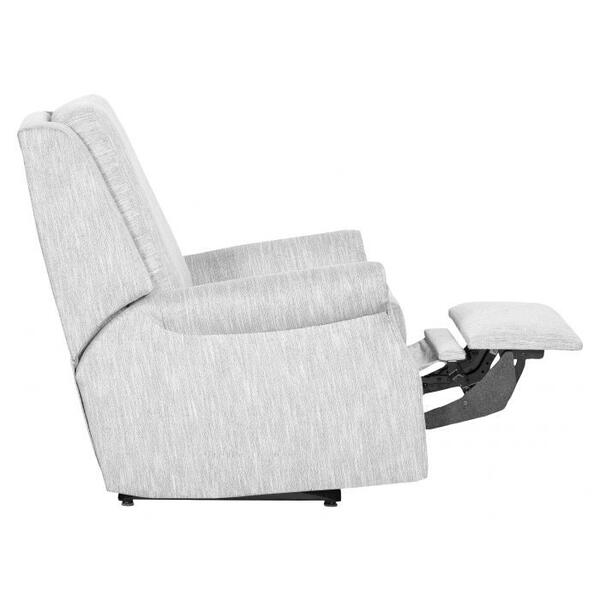 See Details - Roll Arm Power Back Glider Recline