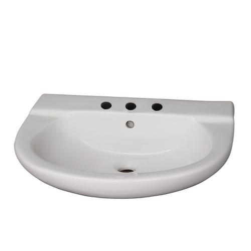 "Jayden Wall-Hung Basin - 8"" Widespread"