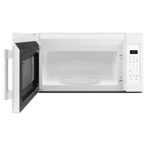 Compact Over-The-Range Microwave - 1.7 Cu. Ft. White