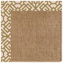 "View Product - Islamorada-Basketweave Lattice Pesto - Rectangle - 24"" x 36"""