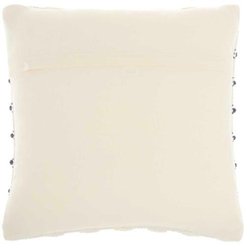 """Life Styles Gc384 Navy 18"""" X 18"""" Throw Pillow"""
