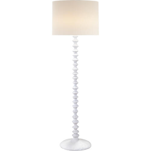 Visual Comfort - AERIN Lilian 65 inch 75.00 watt Plaster White Floor Lamp Portable Light