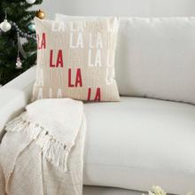 """Holiday Pillows Bx005 Multicolor 18"""" X 18"""" Throw Pillow"""