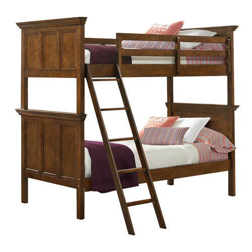 Intercon Furniture - San Mateo Youth Twin over Twin Bunk Bed  Tuscan