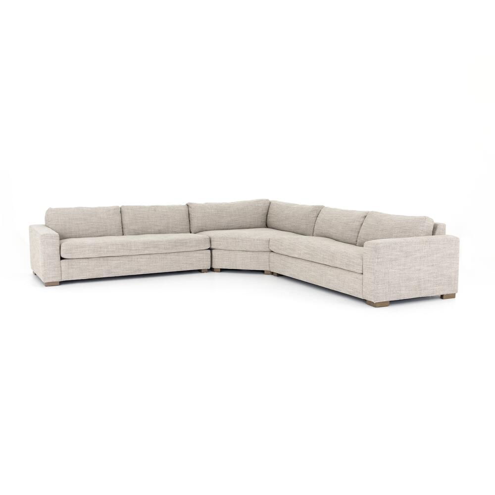 Large Size Boone 3-pc Sectional