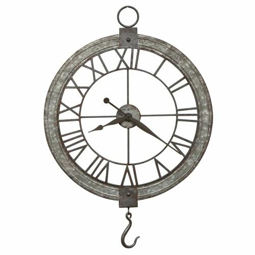 Howard Miller Clock Pulley Oversized Wall Clock 625699