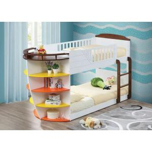 ACME Neptune Twin/Twin Bunk Bed w/Storage Shelves - 37715 - White & Chocolate