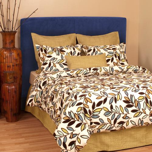 King Slipcovered Headboard Bella Royal (Base and Cover Included)
