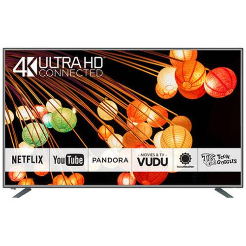 "Gallery - Panasonic 65"" Class (64.5"" Diag.) 4K Ultra HD Smart TV CX420 Series TC-65CX420U - SILVER"