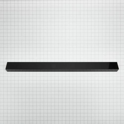 KitchenAid - Slide-In Range Rear Trim Kit, Black