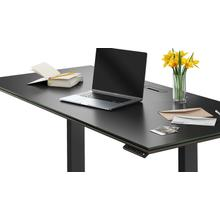 """View Product - Sequel 20 6152 Standing Desk  66""""x30"""" in Charcoal Stained Ash"""