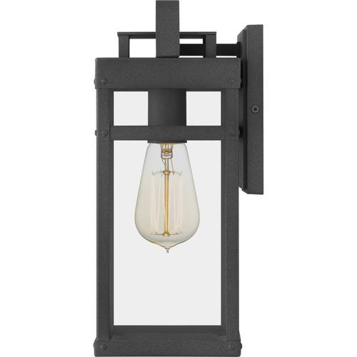 Quoizel - Keaton Outdoor Lantern in Mottled Black