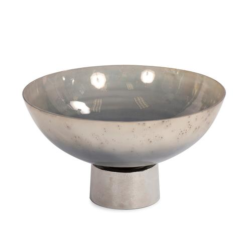 Howard Elliott - Round Grotto Glass Footed Bowl
