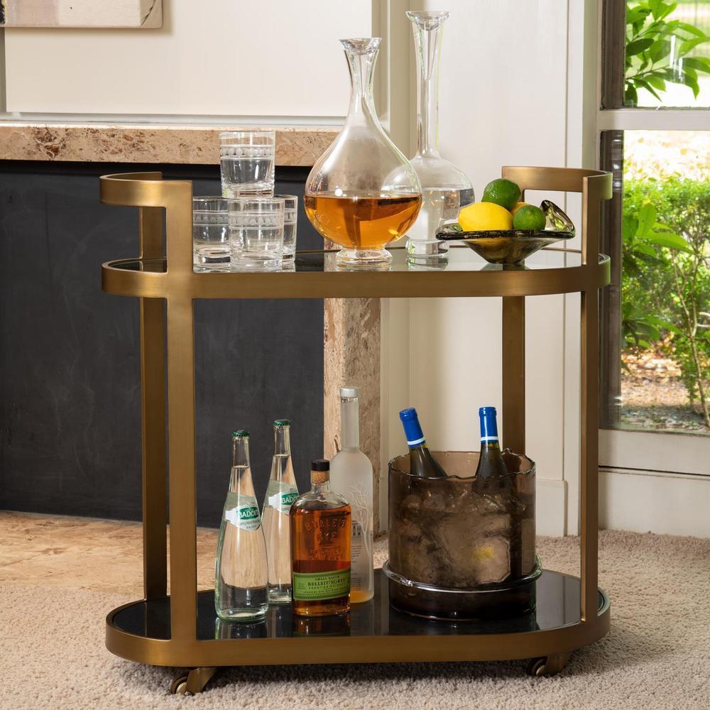 See Details - Regan Bar-Antique Brass