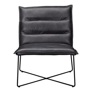 Naxos Leather Chair Grey