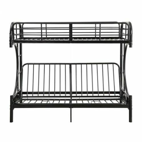 ACME Eclipse Twin/Full/Futon Bunk Bed - 02081BK - Black