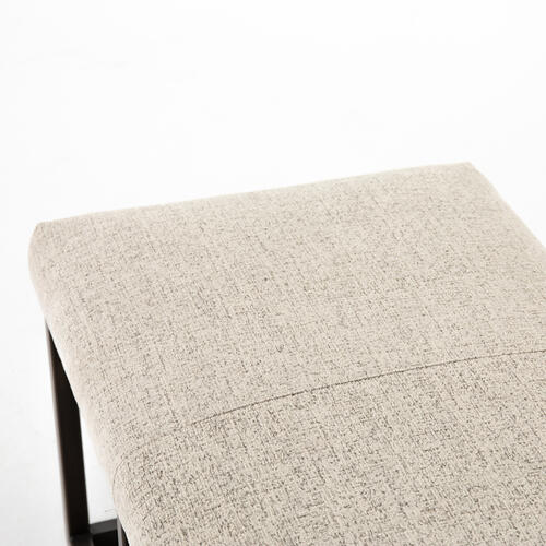 Plushtone Linen Cover Beaumont Bench